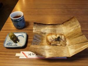 茶団子と鰻いいむし
