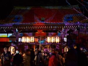 法輪寺のDKライブ