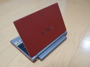 VAIO VGN-T90PS (2004年9月購入)