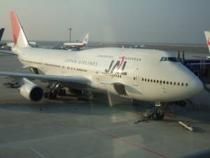 JALの国際線仕様 B747