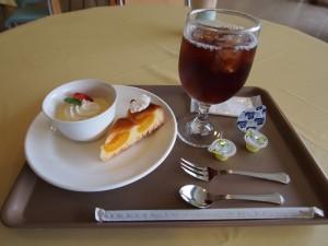 カフェ・ド・ジヴェルニーのケーキセット