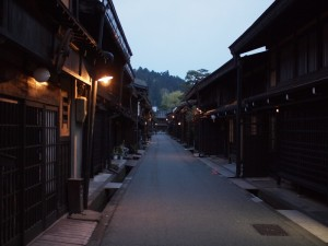 古い街並み (高山・上三之町)