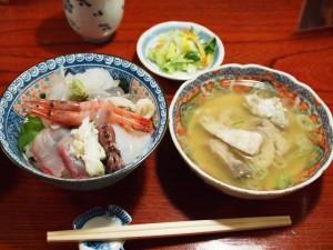 海鮮丼@魚津・満更