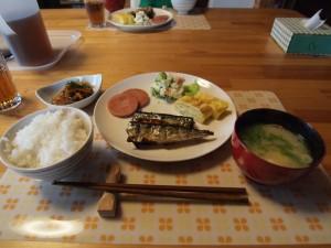 朝ご飯@あんぷらぐ