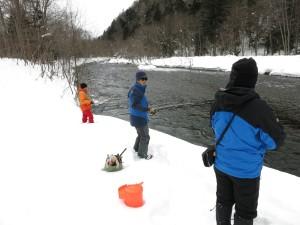 山女釣りに挑戦(1)