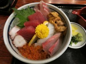福伸の海鮮丼
